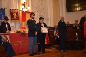 """Messina 6.12.2018 """"Premio Orione Speciale"""" conferito all' UFFICIO  SERVIZI - Questura di Messina -"""