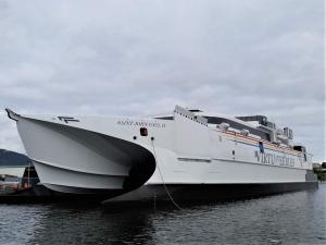 San Giovanni Paolo II  Il collegamento ultramoderno Malta / Sicilia  Virtu Ferries ad alta velocità