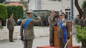 """CAMBIO AL VERTICE DELLA BRIGATA """"AOSTA"""" Il Generale Buscemi passa il comando al Generale Pisciotta."""