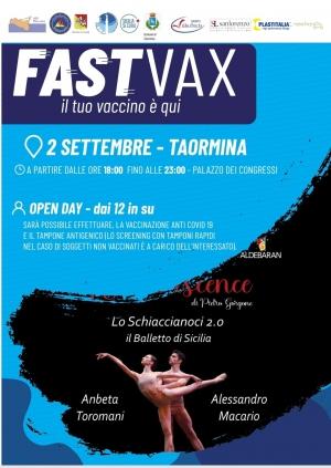 Uno Schiaccianoci scaccia Covid al Teatro Antico Con  lo spettacolo di danza...vaccinazioni  2 settembre  al Teatro Antico