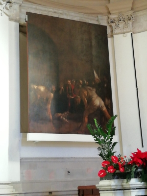 Ritornata a Siracusa la tela di Caravaggio dedicata a Santa Lucia.